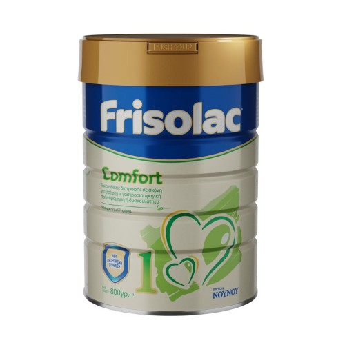 Frisolac Comfort 1 Special Milk 0-6months for Babies with Constipation 800gr