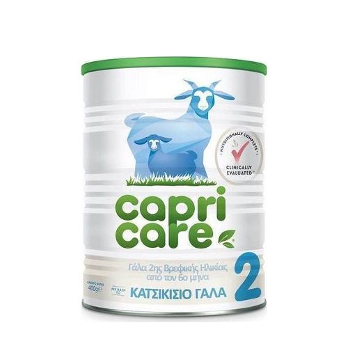 Capricare 2 Baby Milk Based on Goat Milk, from 6th Month, 400gr