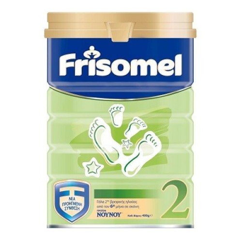 Frisomel Easy Γάλα Σε Σκόνη 2ης Βρεφικής Ηλικίας (από 6μηνών) 400gr