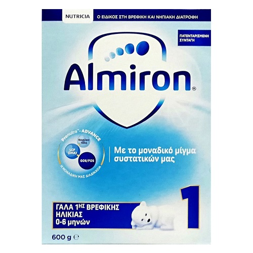 Nutricia Almiron 1 Infant Milk from 0-6 months 600gr