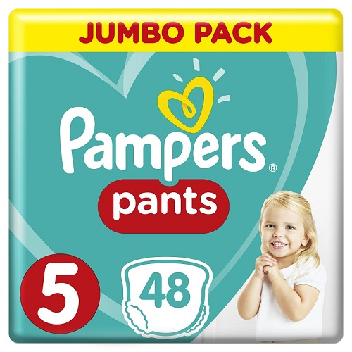 Pampers Jumbo Pack Pants No 5 (11-18kg) 48pcs