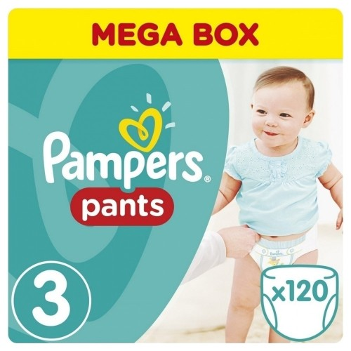Pampers Mega Pack No 3 Nappy Pants (6-11kg) 120pcs