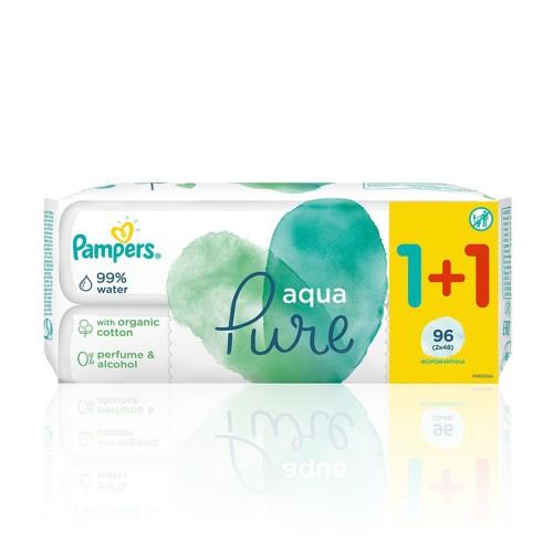 Pampers Aqua Pure Wipes 96pcs