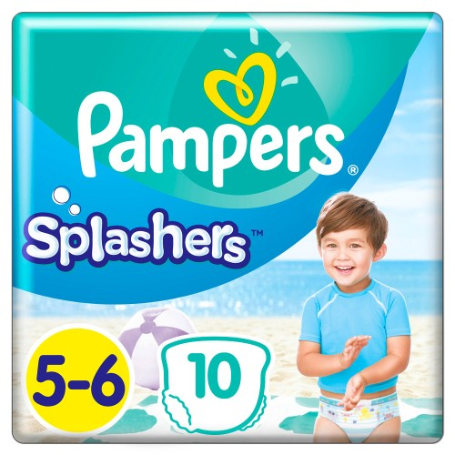 Pampers Splashers No.5-6 (14+kg) 10pcs