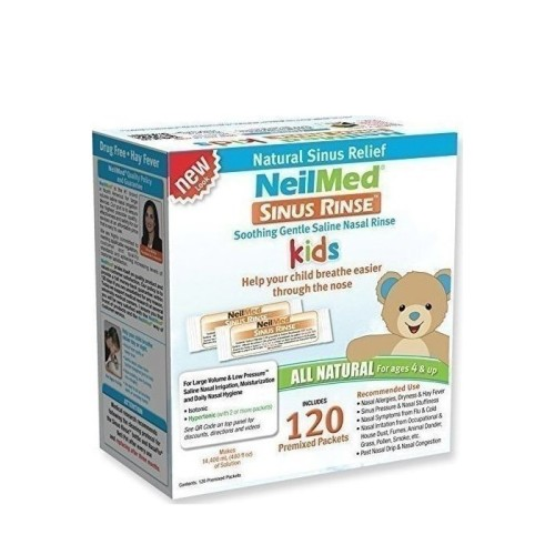NeilMed Sinus Rinse Pediatric Spare Parts, 120 sachets