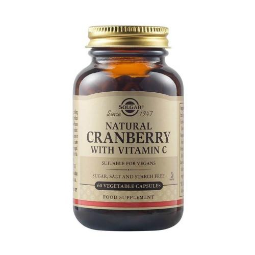 Solgar Cranberry Extract with Vitamin C 60veg caps