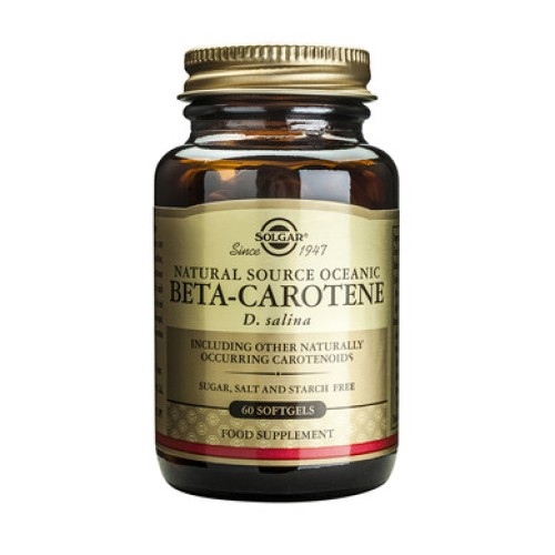 Solgar Beta-Carotene 7mg 60 soft capsules