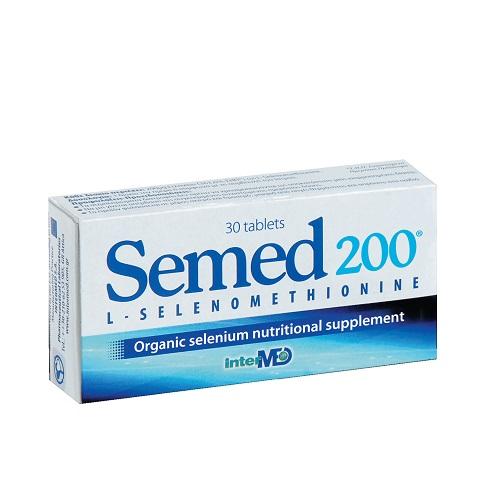 Intermed Semed 200 Selenium Nutrition Supplement, 30tabs