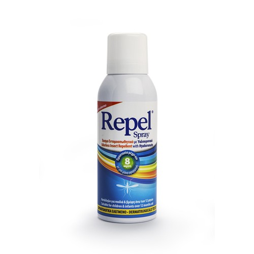 Unipharma Repel Spray Odorless Insect Repellent with Hyaluronate 100ml