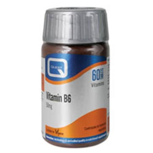 Quest Vitamin B6 50mg 60tabs