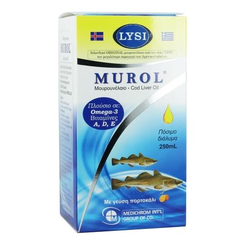 Medichrom Murol Cod Liver Oil with Orange Flavor 250ml