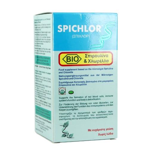 Medichrom Spichlor Bio Spirulina & Chlorella 240tabs