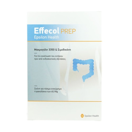 Epsilon Health Effecol Prep for Bowel Emptying before Endoscopic Examinations 4 sachets
