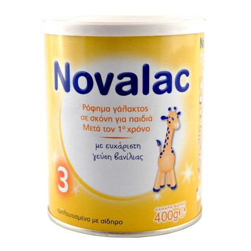 Novalac 3 Powdered Milk for Children after 1 year 400g