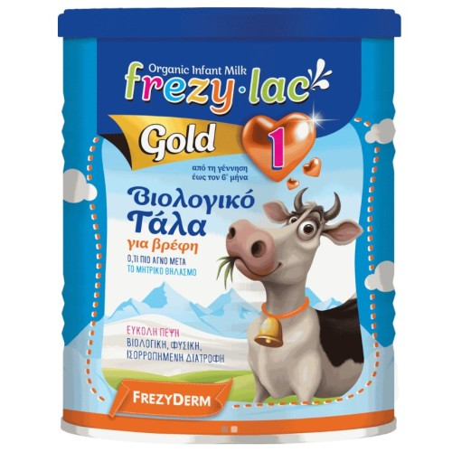Frezylac Gold 1 Organic Cow Milk for Babies from Birth to 6 Months 400g