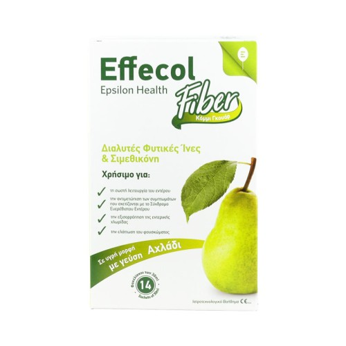 Epsilon Health Effecol Fiber - helps to reduce the symptoms of Irritable Bowel, 14sachets