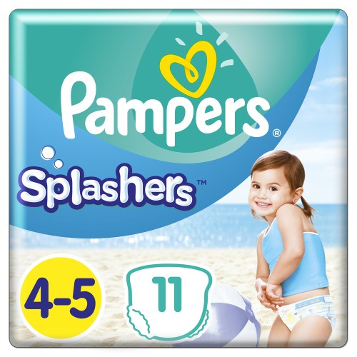 Pampers Splashers No.4-5 (9-15kg) 11pcs