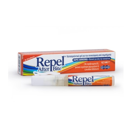 Unipharma Repel After Bite Soothing Gel, Ammonia-Free 6,5ml